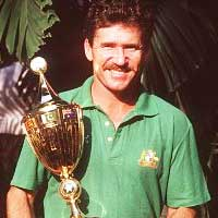 Allan Border Winner 1987 Australia