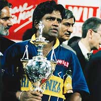 Arjuna Ranatunga Winner 1996
