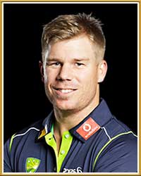 David Warner Profile Australia