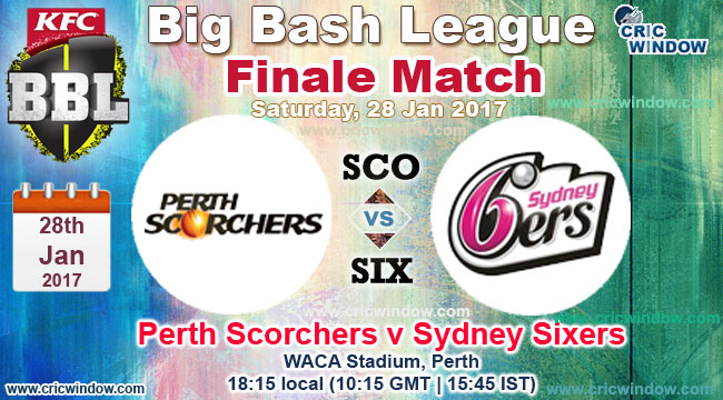 BBL Final Six vs SCO  live action