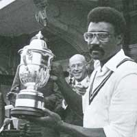 Clive Lloyd, captain of the West Indies