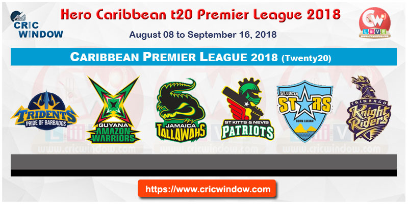 Hero Caribbean Premier League 2018