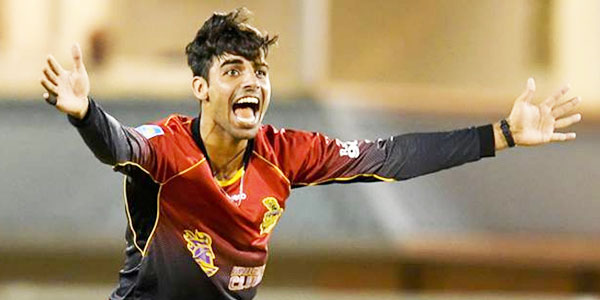 Shadab Khan TKR