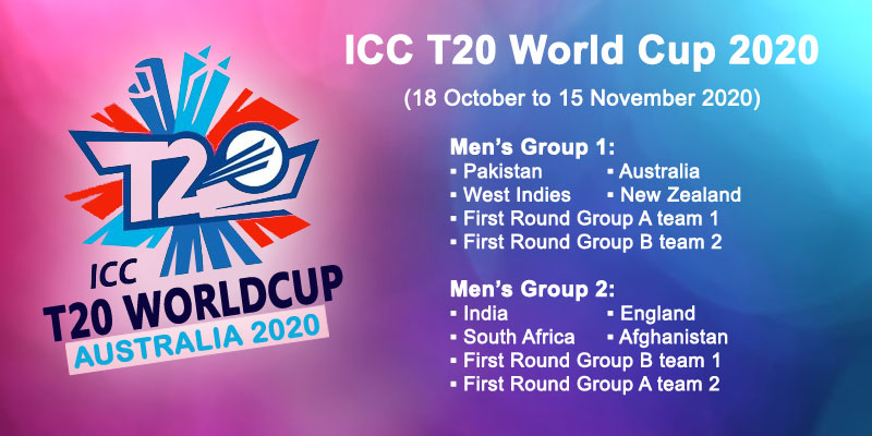 2020 ICC Worldt20 schedule revealed
