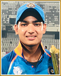 Anuj Rawat India Cricket
