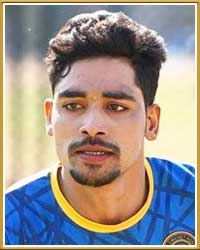 Mohammed Siraj India cricket