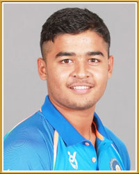 Riyan Parag India Cricket