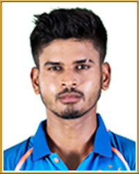 Shreyas Iyer India  Profile