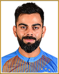 Virat Kohli India CT2017 Most Fifties