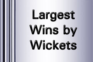 IPL Largest Margins wins by wickets