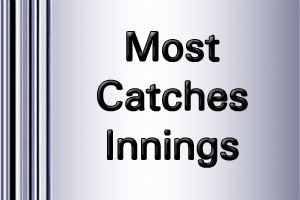 ICC Worldcup Most Catches innings