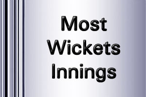 ICC WorldT20 Most Wickets Innings 2016