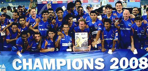 2008 IPL Season 1 winner