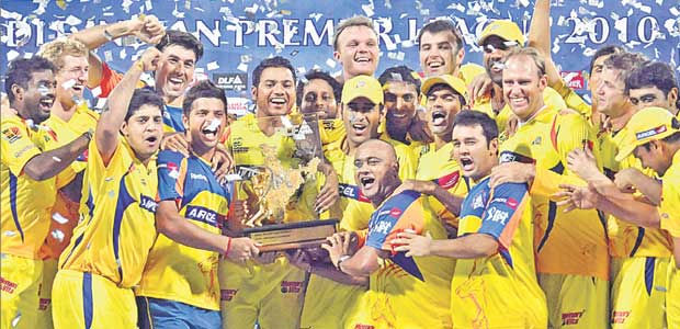 Chennai Super Kings  ipl winner 2010