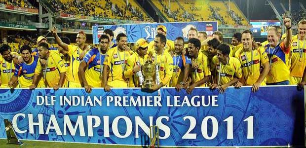 Chennai Super Kings  ipl winner 2011