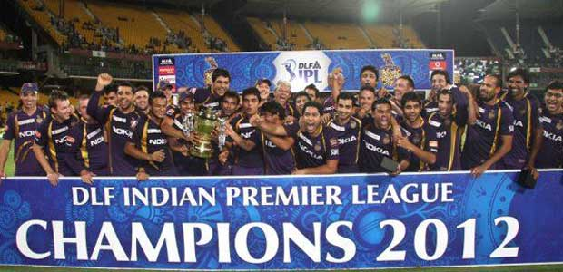 2012 IPL Season 5 winner