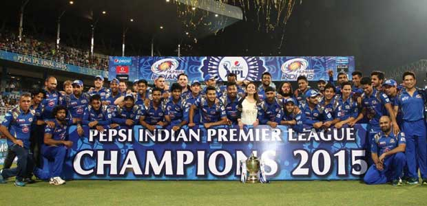 2015 IPL Season 8 winner