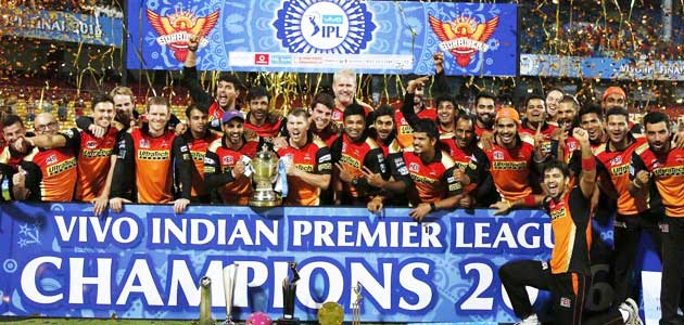 Sunrisers Hyderabad IPL2016 Winner