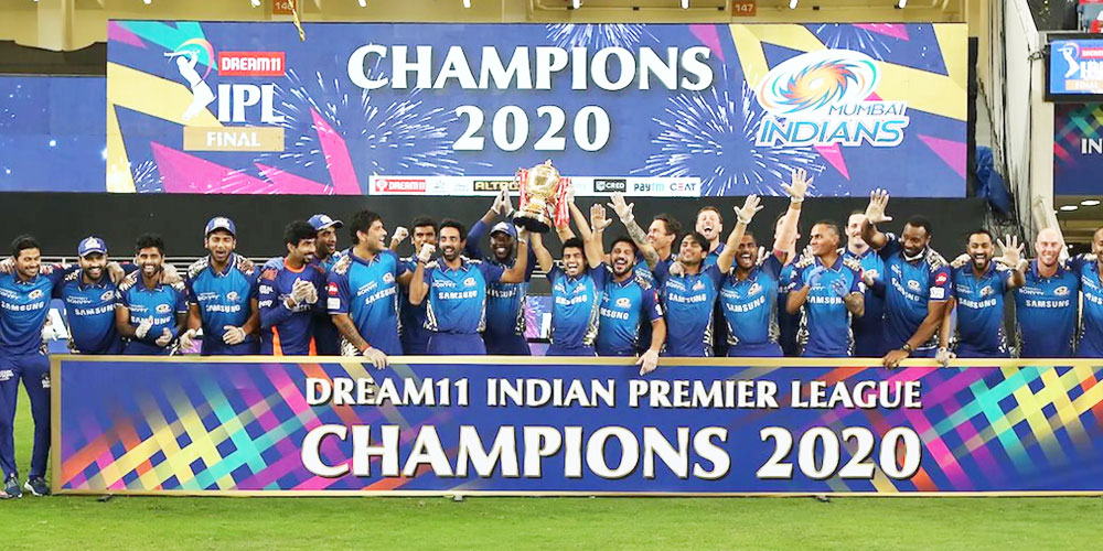 Mumbai Indians winners of IPL 2020