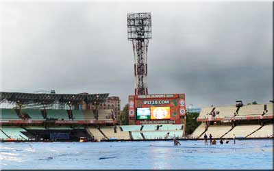 IPL 7 Qualifier 1 postponed due to rain