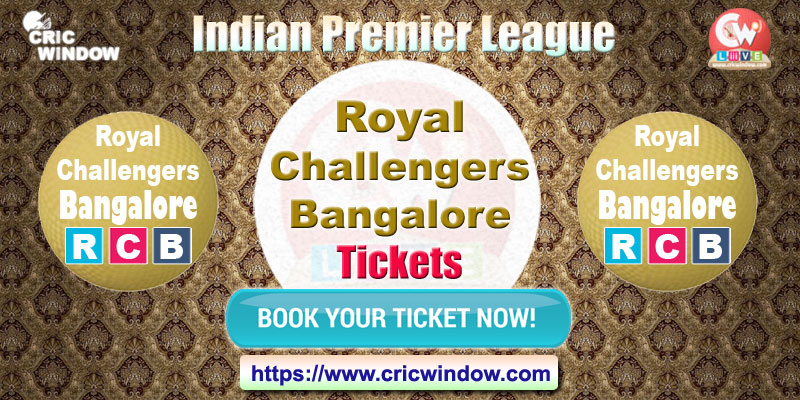ipl Bangalore tickets booking 2018