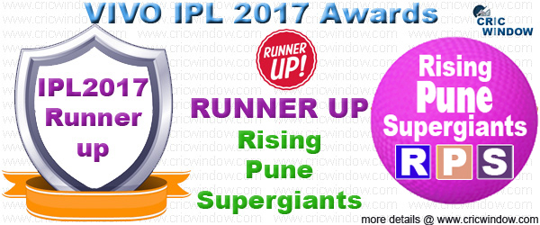 IPL 2017 Runner-up