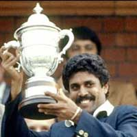 Kapil Dev Winnder 1983 India
