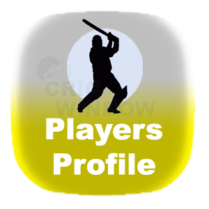 cricket players profile