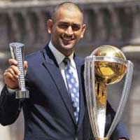 MS Dhoni Winner 2011 India
