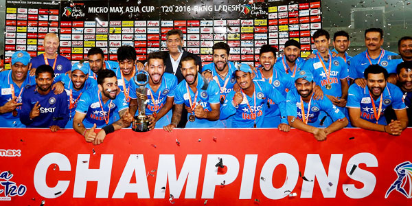 Asia Cup 2016 winner