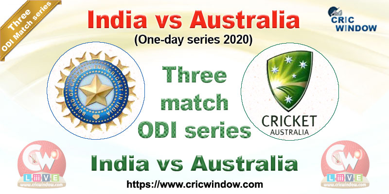 Squads India Vs Australia Odi Series 2020 Cricwindow Com