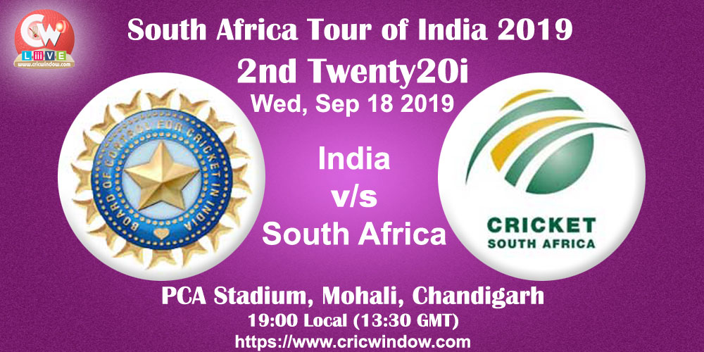 Ind vs SA 2nd t20i full report