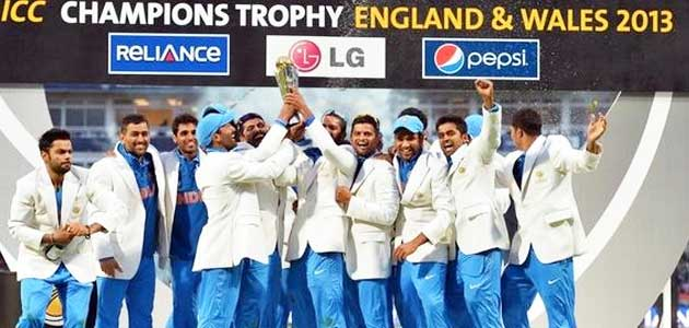 India winner of Champons Trophy 2013