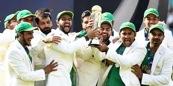 Pakistan winner of Champons Trophy 2017