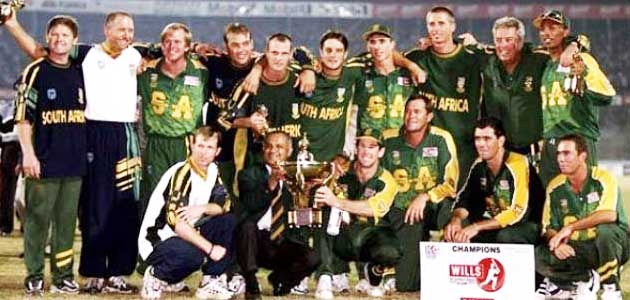 South Africa winner of ICC Champions Trophy 1998
