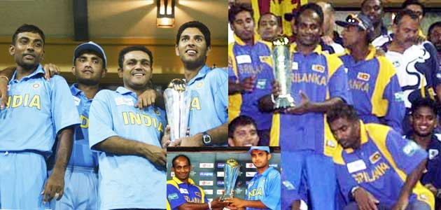 Sri Lanka winner of ICC Champions Trophy 2002