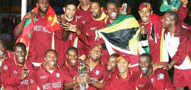 West Indies winner of ICC Champions Trophy 2004