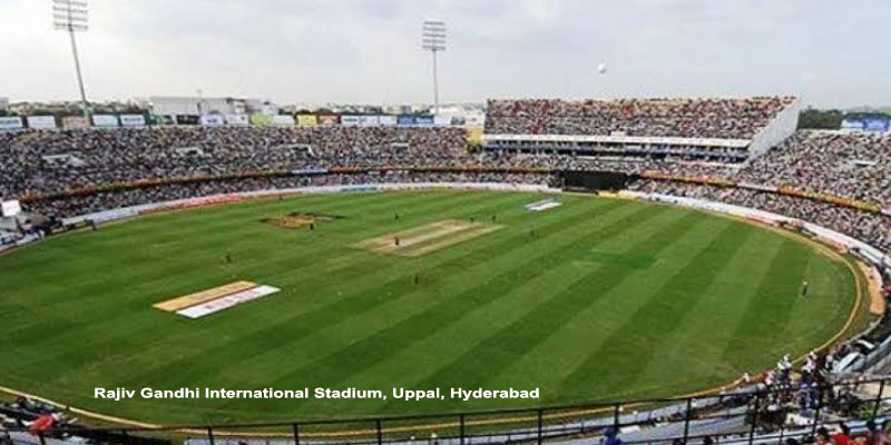 Rajiv Gandhi International Stadium, Uppal, Hyderabad