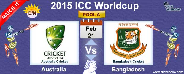 Australia vs Bangladesh Match-11