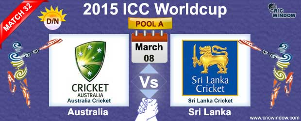 Australia vs Sri Lanka Match-32