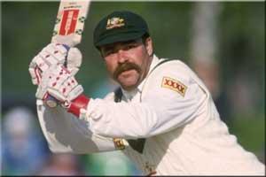 David Boon Australia 1987 World Cup Winner