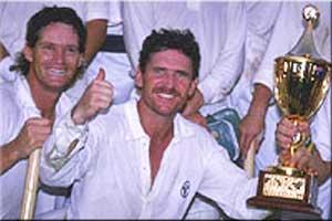 Allan Border Australia 1987 World Cup Winner