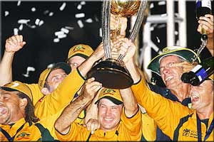 Australia 2007 World Cup Winner