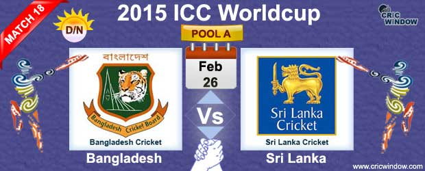Bangladesh vs Sri Lanka Match-18