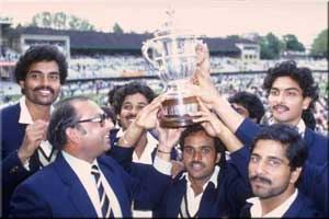 India 1983 World Cup Winner