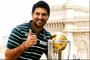 Yuvraj Singh India 2011 World Cup winner