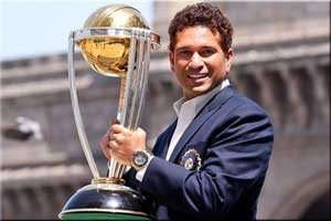 Sachin Tendulkar India 2011 World Cup winner