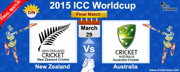 Aus vs NZ Final Match