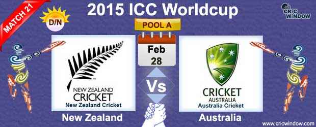 New Zealand Vs Australia Preview Match 21 Icc Worldcup