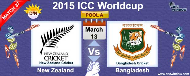 New Zealand Vs Bangladesh Preview Match 37 Icc Worldcup